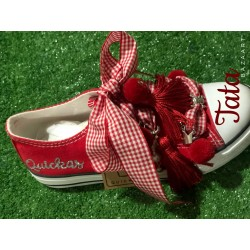 ZAPATILLAS ALL RED VICHY...